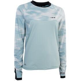 ION Traze AMP AFT Maglietta a maniche lunghe Donna, blu/bianco